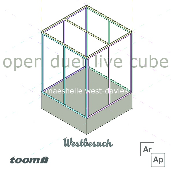 open duet live cube at westbesuch